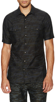 Wings + Horns Tiger Spruce Camo Sportshirt