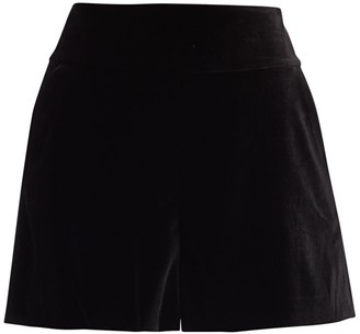 Alice + Olivia Donald Velvet Shorts