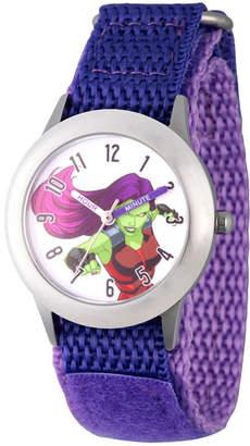 Marvel Guardian Of The Galaxy Girls Purple Strap Watch-Wma000134
