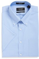 Nordstrom Men's Traditional Fit Non-Iron Short Sleeve Dress Shirt
