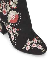 Miss Selfridge Donna embroidered ankle boots
