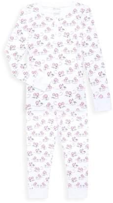 Roller Rabbit Baby's, Little Girl's & Girl's 2-Piece Gym Rats Pajama Set