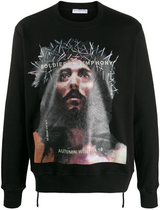 Ih Nom Uh Nit Soldier Symphony print sweatshirt