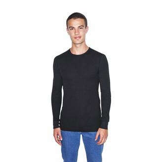 American Apparel Men's Baby Thermal Long Sleeve T-Shirt