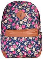 Riah Fashion Floral Printed Backpack