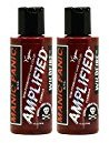 """Manic Panic Amplified Semi-Permanent Hair Color Cream - Wildfire 4oz """"Pack of 2"""""""