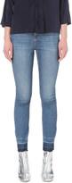 Sandro Skinny mid-rise released-hem jeans