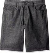 Rocawear Men's Big and Tall R Flap Denim Short