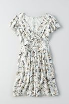 American Eagle Outfitters AE Keyhole Fit & Flare Dress