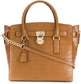 MICHAEL Michael Kors crocodile embossed tote bag