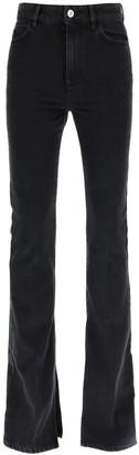 ATTICO Mid-Rise Flared Jeans