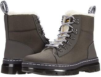 Dr. Martens Combs FL (Gunmetal Enterprise 50/50/Ajax (E97)) Women's Shoes
