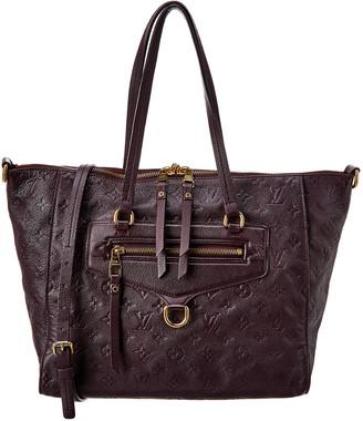 Louis Vuitton Purple Monogram Empreinte Leather Lumineuse Pm