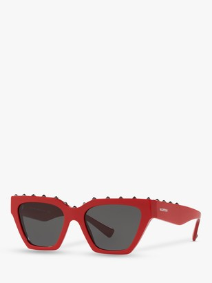 Valentino VA4046 Women's Studded Square Sunglasses