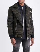 Balmain Camouflage-print shell-down puffer jacket