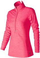 New Balance Women's Lace Up For The Cure Transit Half-Zip Pullover