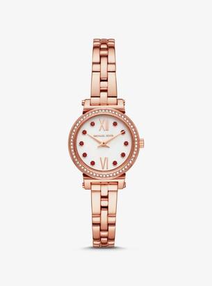 Michael Kors Petite Sofie Rose Gold-Tone Lunar New Year Watch