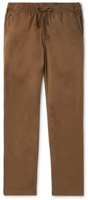 SAVE KHAKI UNITED Easy Slim-Fit Cotton-Twill Drawstring Chinos