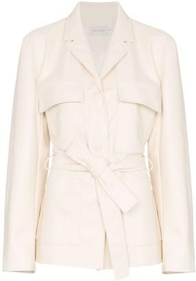 Low Classic tie-waist long-sleeve jacket