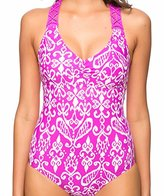 Athena Women's Sand Tropez Macrame Halter One Piece Swimsuit