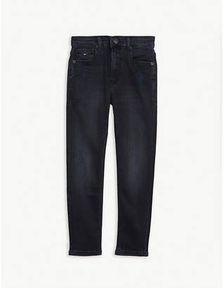 Tommy Hilfiger 1988 tapered leg jeans 4-14 years