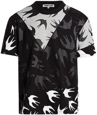 McQ Seamed Crewneck T-Shirt