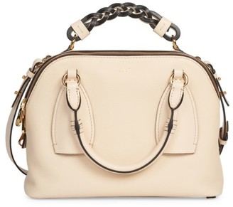 Chloé Small Daria Leather Satchel