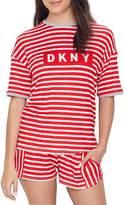 DKNY Classic Stripe Knit Pajama Set