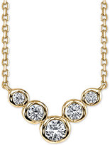 Sirena Energy Diamond Frontal Necklace (1/4 ct. t.w.) in 14k White or Yellow Gold