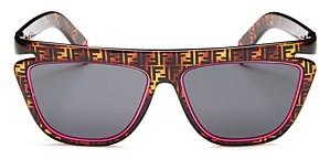 Fendi Women's Flat Top Square Sunglasses, 55mm