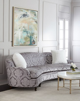 "Haute House L'Amour Damask Sofa 118"""