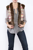 Judith March Tribal Boho Vest