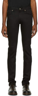 Naked & Famous Denim Denim Denim Black Stretch Skinny Guy Jeans