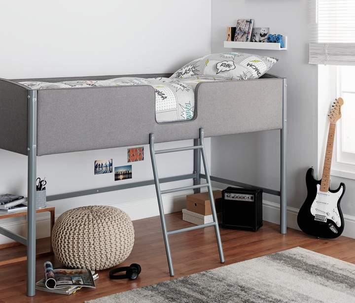 Argos Home Brooklyn White Wooden Mid Sleeper Bed Frame