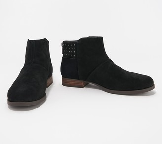 Koolaburra By Ugg by UGG Suede Studded Ankle Boots - Giyah