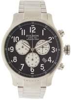 Filson Men's Mackinaw Field Chrono Stainless Steel Watch, 43mm