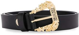Versace Sidney Leather Belt