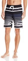 Kanu Surf Men's Reflection Stripe Board Shorts