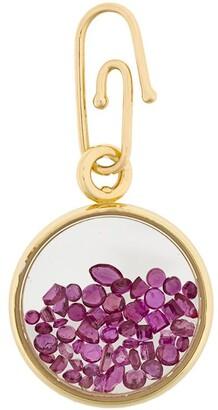 Aurelie Bidermann Chivoir sapphires pendant/charm