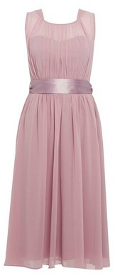 Dorothy Perkins Womens Showcase Bridesmaid Dark Rose 'Bethany' Dress