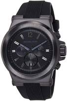 Michael Kors MK8152 Men's Dial Silicone Rubber Strap Chronograph Watch