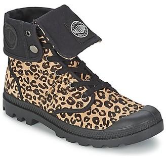 Palladium BAGGY women's Mid Boots in Brown