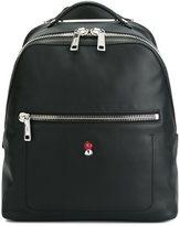 Fendi square backpack - men - Leather/Nylon - One Size
