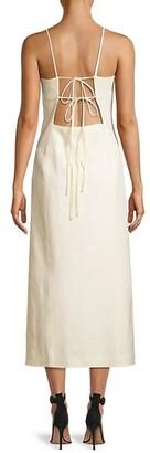 Tory Burch Linen Sheath Dress