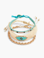 Lucky Brand Beaded Bracelet Set