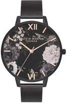 Olivia Burton **After Dark Marble Floral Watch