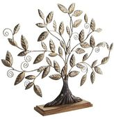 Pier 1 Imports Metal Tree on Wooden Base