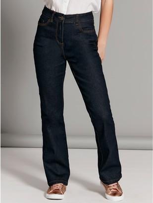 M&Co Petite bootcut jeans