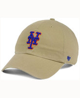 '47 New York Mets Khaki Clean UP Cap