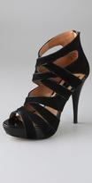 Genarose Suede Platform Sandals